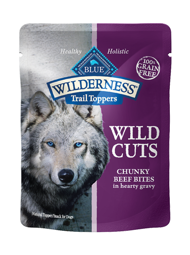 Blue Buffalo Wilderness Trail Toppers Wild Cuts Chunky Beef Bites In Hearty Gravy