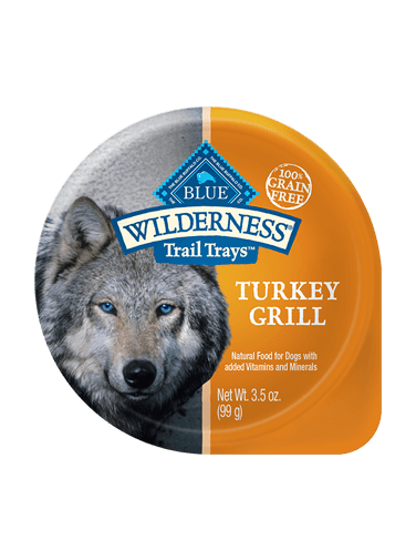 Blue Buffalo Wilderness Trail Trays Turkey Grill
