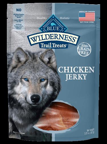 Blue Buffalo Wilderness Trail Treats Chicken Jerky