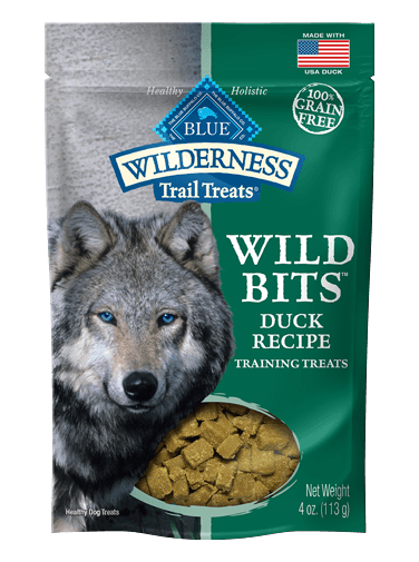 Blue Buffalo Wilderness Trail Treats Wild Bits Duck Recipe