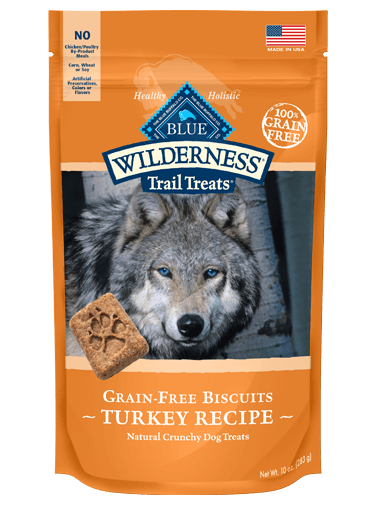 Blue Buffalo Wilderness Trail Treats Turkey Biscuits