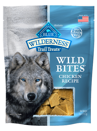 Blue Buffalo Wilderness Trail Treats Wild Bites Chicken Recipe
