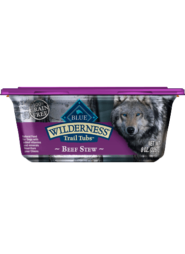 Blue Buffalo Wilderness Trail Tubs Beef Stew