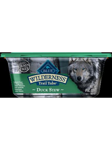 Blue Buffalo Wilderness Trail Tubs Duck Stew