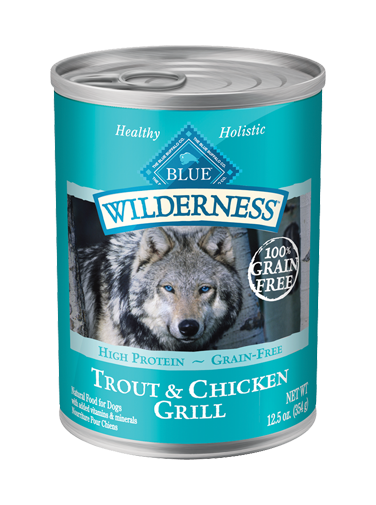 Blue Buffalo Wilderness Trout and Chicken Grill