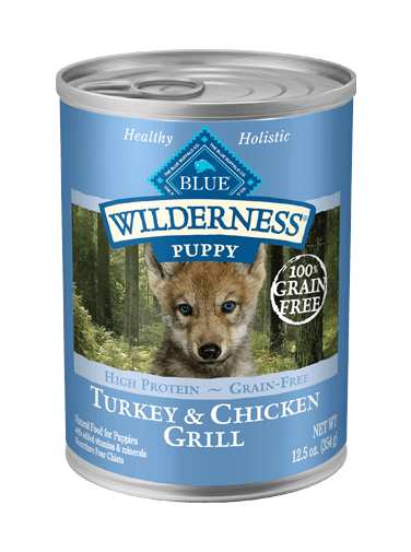 Blue Buffalo Wilderness Turkey and Chicken Grill For Puppies