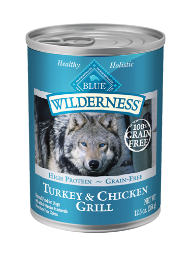 Blue Buffalo Wilderness Turkey and Chicken Grill