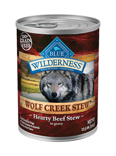Blue Buffalo Wilderness Wolf Creek Stew Hearty Beef Stew In Gravy
