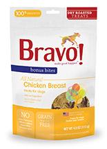 Bravo Bonus Bites Dry Roasted Chicken Breast