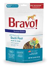 Bravo Bonus Bites Dry Roasted Duck Feet