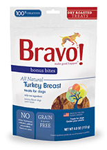 Bravo Bonus Bites Dry Roasted Turkey Breast