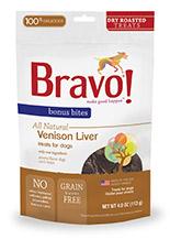 Bravo Bonus Bites Dry Roasted Venison Liver