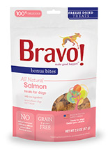 Bravo Bonus Bites Freeze Dried Salmon