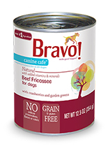 Bravo Canine Cafe Beef Fricassee