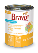 Bravo Canine Cafe Chicken Fricassee