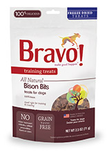 Bravo Training Treats Bison Bits