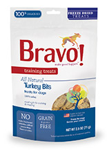 Bravo Training Treats Turkey Bits
