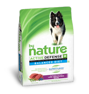 By Nature Active Defense Balanced Diet Lamb, Lentils and Duck Recipe