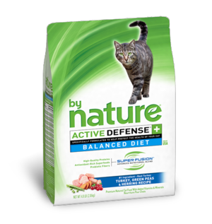 By Nature Active Defense Balanced Diet Turkey, Green Peas and Herring Recipe