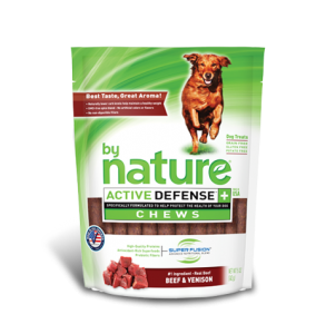 By Nature Active Defense Chews Beef and Venison