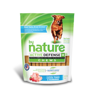 By Nature Active Defense Chews Chicken, Turkey and Cranberries