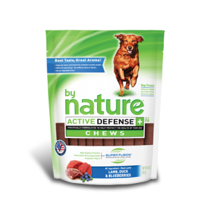 By Nature Active Defense Chews Lamb, Duck and Blueberries