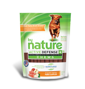 By Nature Active Defense Chews Pork and Apples
