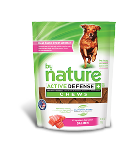 By Nature Active Defense Chews Salmon