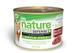 By Nature Active Defense Grain Free 95% Beef and Beef Liver