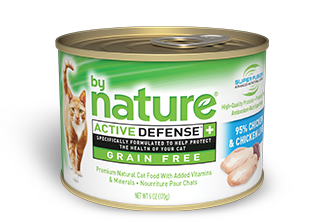 By Nature Active Defense Grain Free 95% Chicken and Chicken Liver