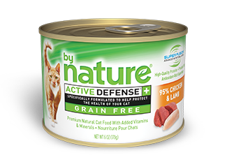 By Nature Active Defense Grain Free 95% Chicken and Lamb