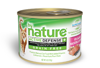 By Nature Active Defense Grain Free 95% Salmon, Mackerel and Sardines