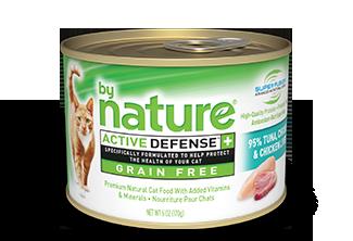 By Nature Active Defense Grain Free 95% Tuna, Chicken and Chicken Liver