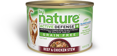 By Nature Active Defense Grain Free Beef and Chicken Stew