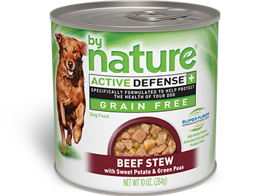 By Nature Active Defense Grain Free Beef Stew