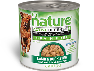 By Nature Active Defense Grain Free Lamb and Duck Stew