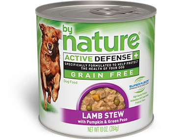 By Nature Active Defense Grain Free Lamb Stew