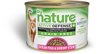 By Nature Active Defense Grain Free Ocean Fish and Shrimp Stew