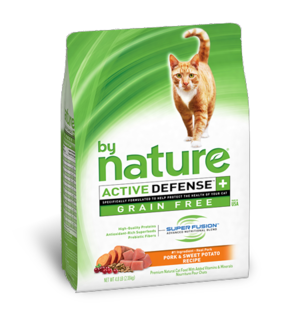 By Nature Active Defense Grain Free Pork and Sweet Potato Recipe