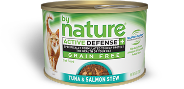 By Nature Active Defense Grain Free Tuna and Salmon Stew
