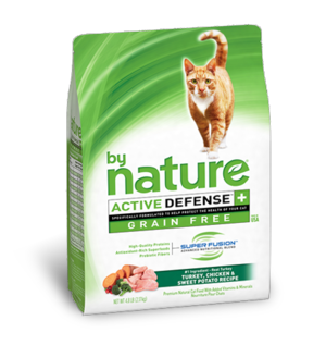 By Nature Active Defense Grain Free Turkey, Chicken and Sweet Potato Recipe