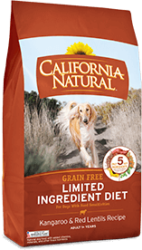 California Natural Grain Free Limited Ingredient Diet Kangaroo & Red Lentils Recipe For Adult Dogs