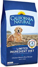 California Natural Limited Ingredient Diet Chicken Meal & Rice Recipe For Adult Dogs
