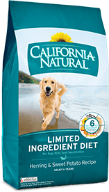 California Natural Limited Ingredient Diet Herring & Sweet Potato Recipe For Adult Dogs