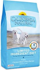 California Natural Limited Ingredient Diet Chicken Meal & Rice Recipe For Puppies