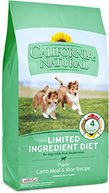 California Natural Limited Ingredient Diet Lamb Meal & Rice Recipe For Puppies
