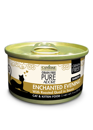 Canidae Grain Free Pure Adore Enchanted Evening With Roasted Quail In Sauce