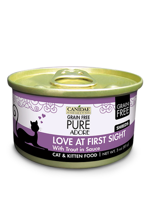 Canidae Grain Free Pure Adore Love At First Sight With Trout In Sauce