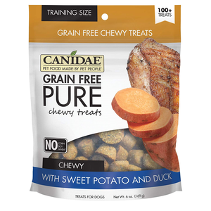Canidae Grain Free Pure Chewy Treats With Sweet Potato and Duck