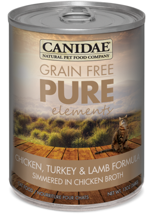 Canidae Grain Free Pure Elements Chicken, Turkey and Lamb Formula Simmered In Chicken Broth